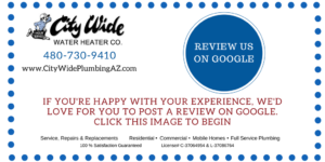 Review City Wide Plumbing on Google